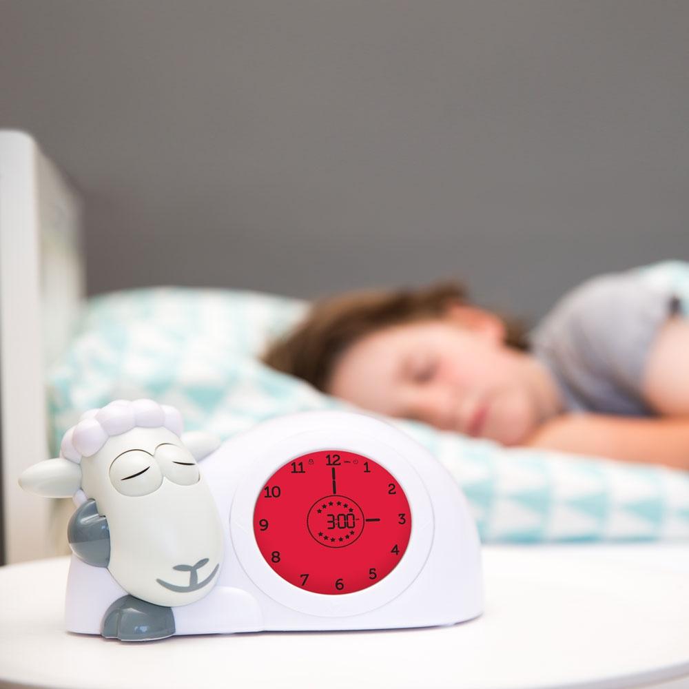 ZAZU PAM Søvntrenernatt lampehøyttaler | Grå Rudo.no